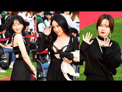 강지영-낸시랭-구혜선, 과감하고 강렬한 블랙룩! (제22회 부천국제판타스틱영화제 레드카펫)