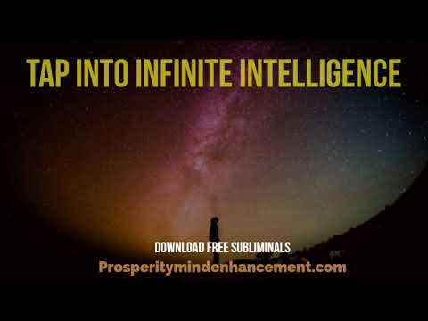 Mind Ether Connection - Subliminal Infinite Intelligence Connector Audio