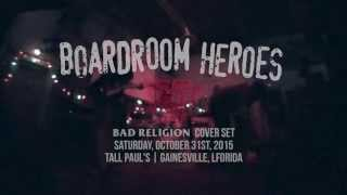 Boardroom Heroes – Bad Religion Cover Set at Fest 14 10/31/15