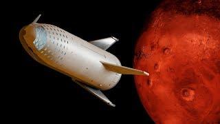 SpaceX Mars Landing update