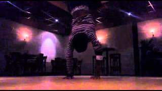 Breakdance bboy technical