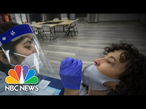 Growing Concern As Coronavirus Cases Surge Across The Country | NBC Nightly News