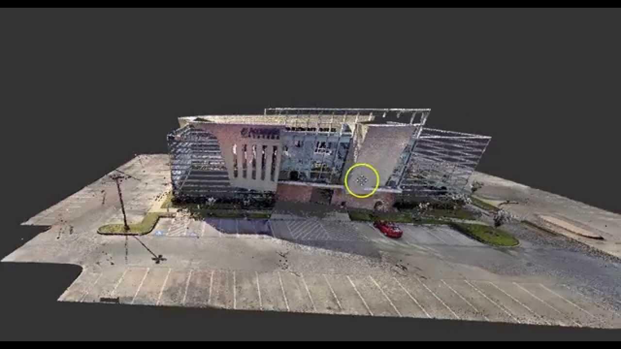 Gds 3d laser scanning 15 scans icon building for Architecture 3d laser scanner