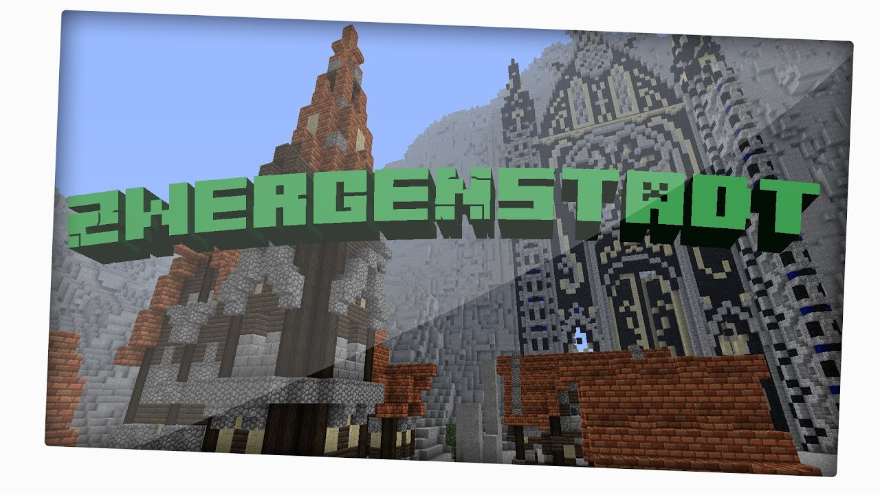Lets Show Minecraft Die Zwergenstadt YouTube - Minecraft grobe hauser download