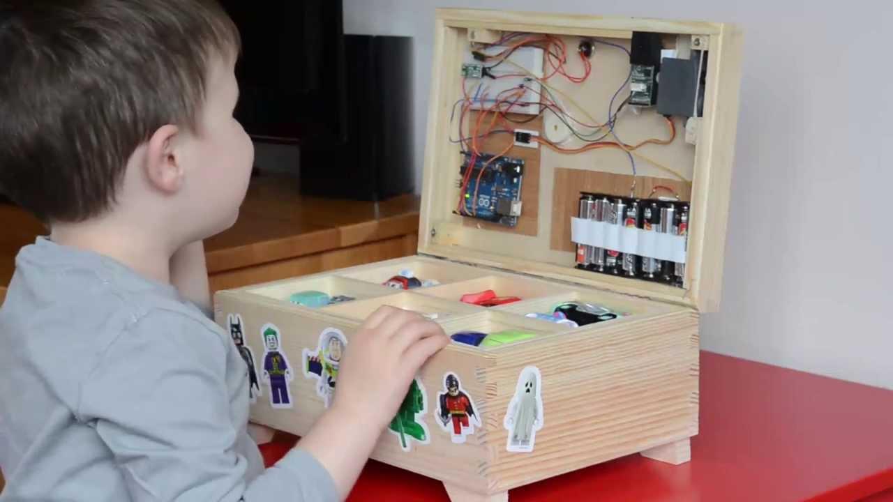 Arduino caixa de brinquedos