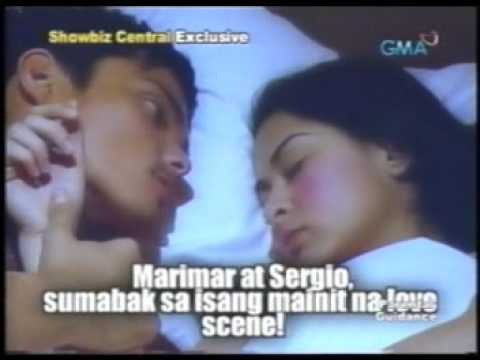 Showbiz Central:Sergio-Marimar Love Scene..Again (BTS) [1.2]