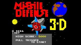 Missile Defense 3-D Walkthrough