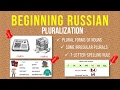 Beginning Russian: Plural Forms of Nouns