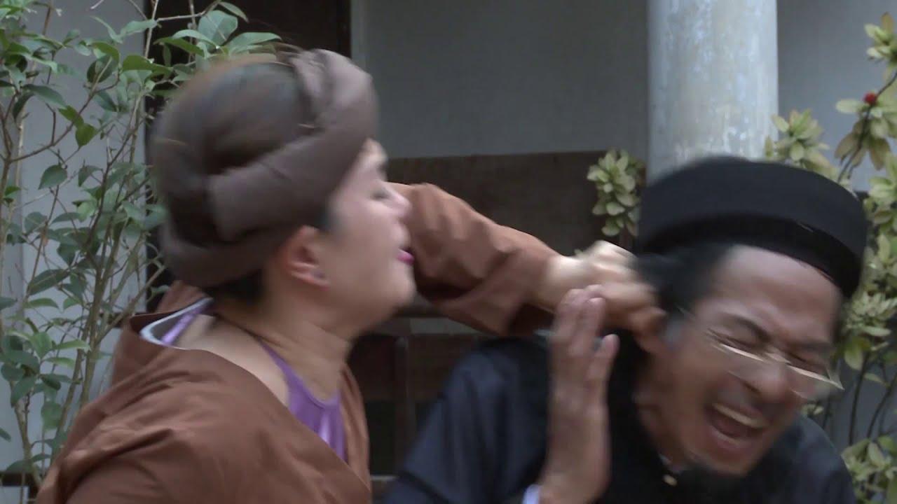 Phim Hài Dân Gian Mới Nhất - Thầy đồ dậy học - Tập 10 - Phạt | Bùi Bài Bình, Thanh Tú