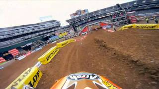 GoPro HD: Mike Alessi Practice - Oakland Monster Energy Supercross 2011