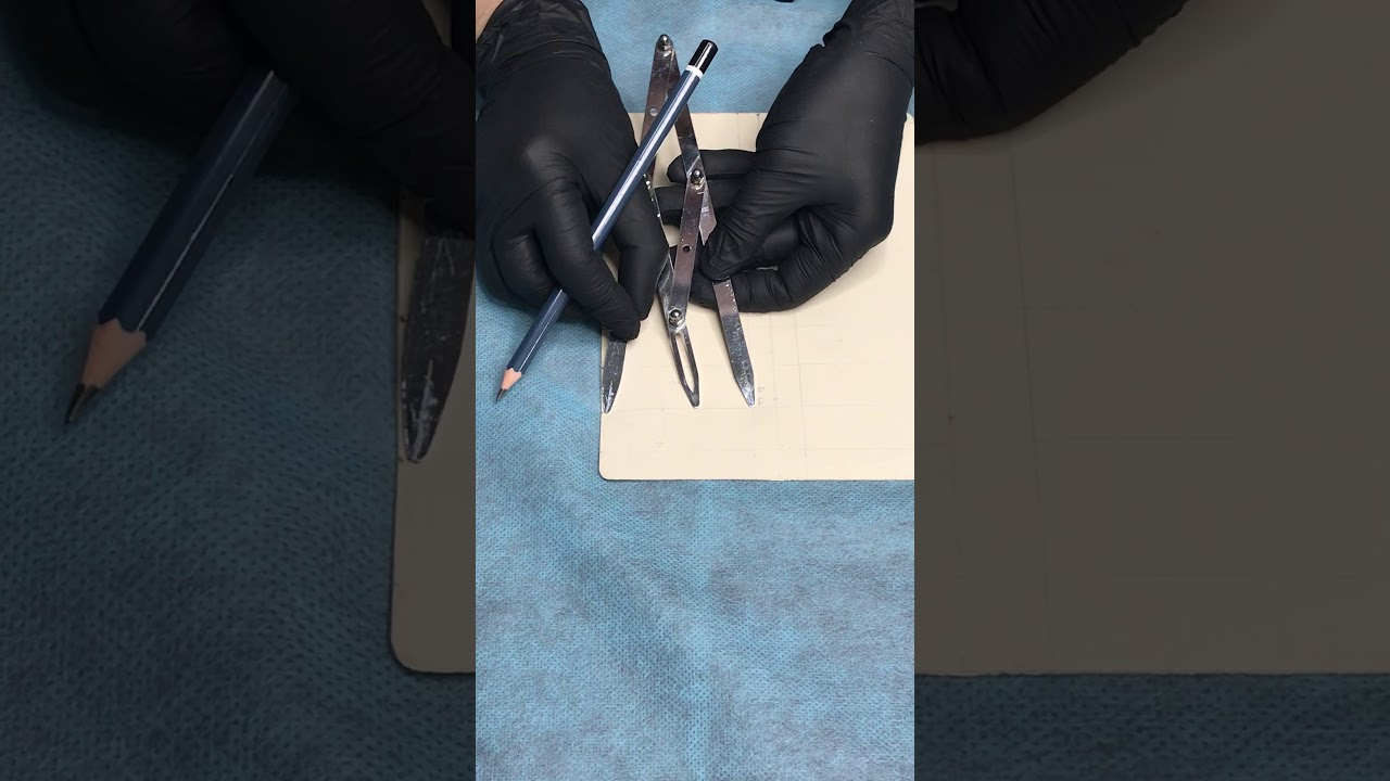 Cách vẽ khung chân mày đúng chuẩn tỷ lệ vàng cho người mới bắt đầu học phun xăm