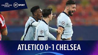Atletico Madrid v Chelsea (0-1) | Giroud scores amazing bicycle-kick | Champions League Highlights