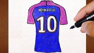 Como Desenhar Camisa 10 NEYMAR NO PSG