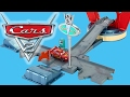 Disney Pixar Cars 2 Radiator Springs Flo's V8 Cafe Playset Story Sets Collection By Blu Toys Club