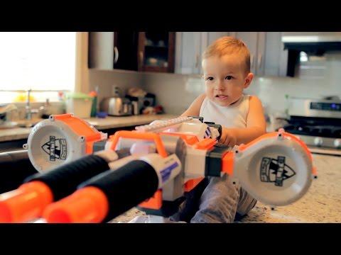 Nerf War: Gun BABY 2!