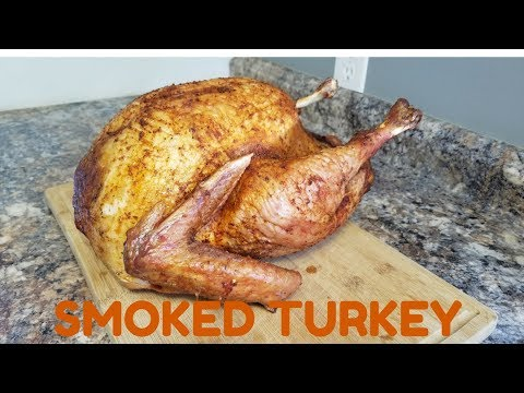 smoked turkey breast on Cabela's pellet grill   Doovi