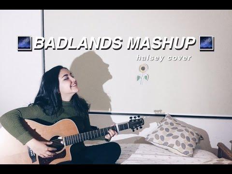 halsey badlands mashup (colors, gasoline + more)