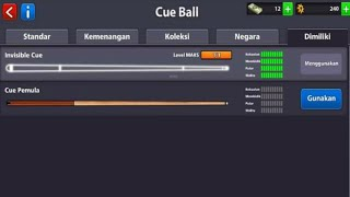 Download Lagu Cue INVISIBLE MaxX 8 BALL POOL. mp3