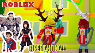 Roblox: FIRE FIGHTING! ON A BICYCLE