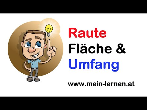 raute fl cheninhalt und umfang bung 1 youtube. Black Bedroom Furniture Sets. Home Design Ideas
