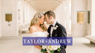 This Wedding Will Give You Chills + Tears | Taylor + Andrew's Film | St. Louis Union Station