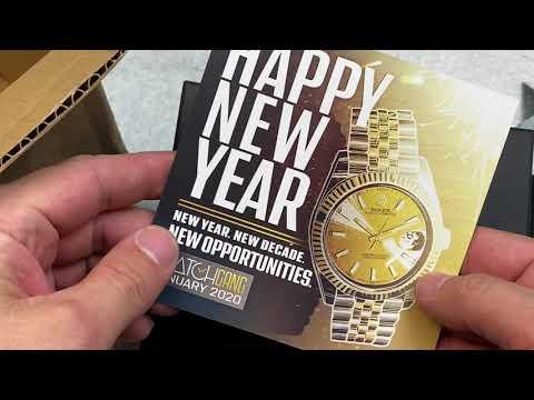 $99 Watch Gang Black Subscription January 2020 Watch Box Opening!!!