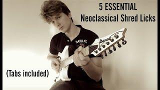 5 ESSENTIAL Neoclassical Shred Licks