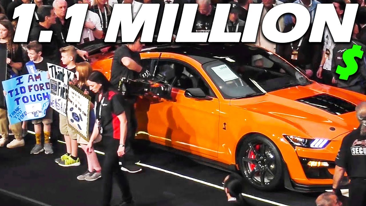 First 2020 shelby gt500 sells for 1 1 million dollars