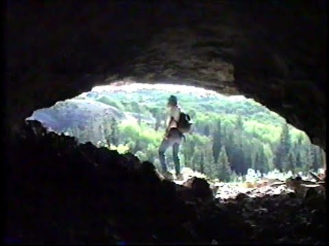 Caves in the Flattops Wilderness Area of Colorado with John and Dave.