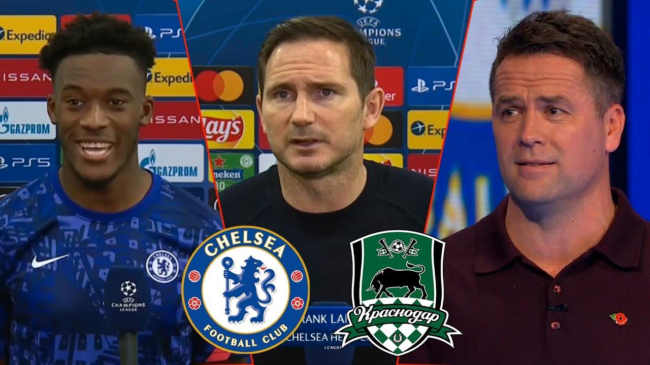 Chelsea vs Krasnodar 4-0 Hakim Ziyech First Goal🔥 Pulisic Is BACK Lampard Reaction Owen Analysis