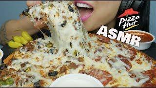 ASMR PIZZA HUT (EATING SOUNDS) | SAS-ASMR