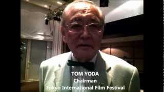 Tom Yoda, Chairman Tokyo International Film Festival, ospite di Cannes 2012
