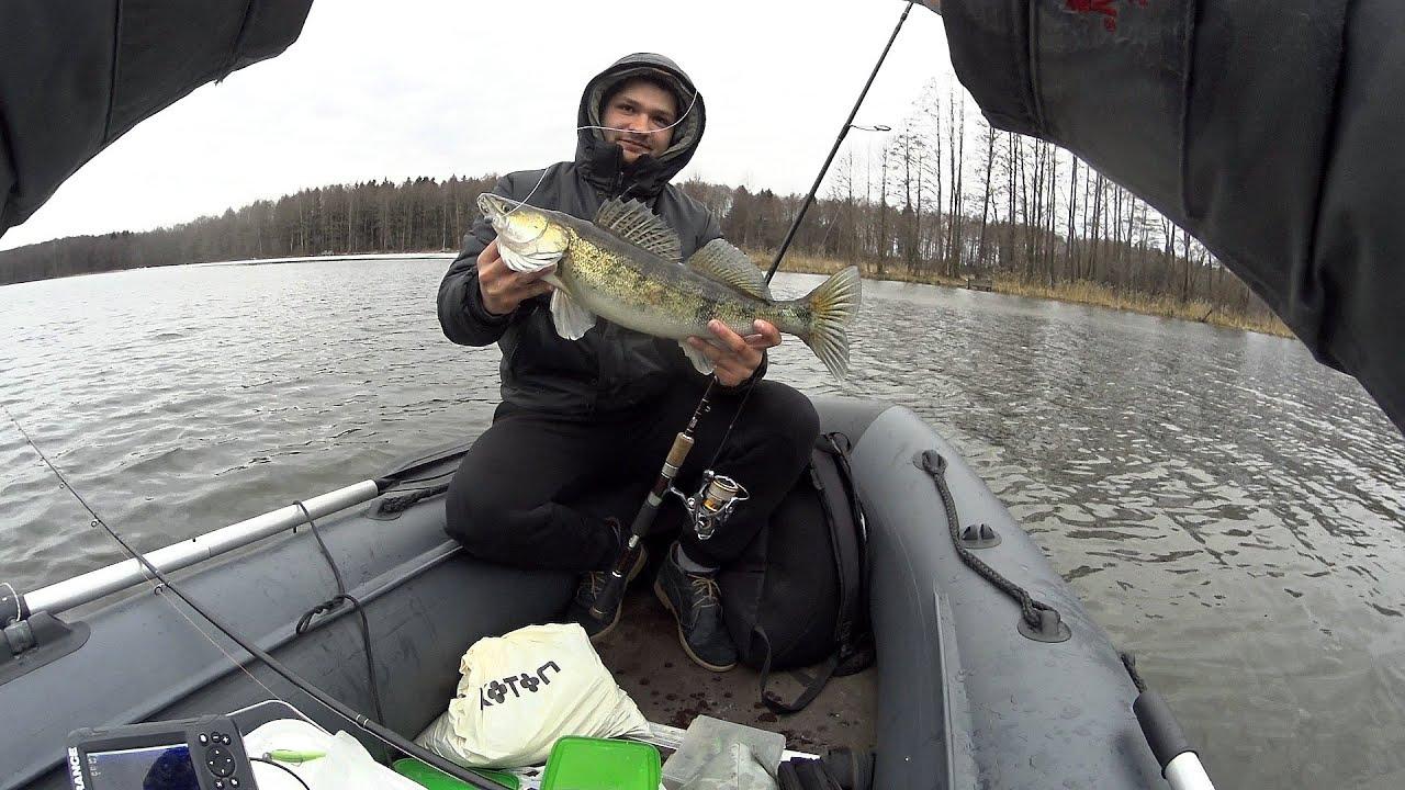 Ловля судака весной. Открытие рыболовного сезона 2019. Джиг решает.
