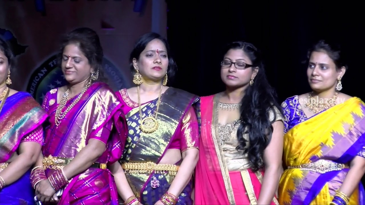 DATA Bathukamma Committee members Intro at Bathukamma & Dasara Panduga 2017