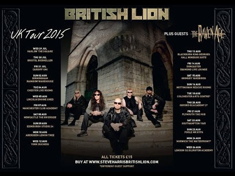 Steve Harris British Lion (UK) - Live at Studio 24, Edinburgh August 9th, 2015 FULL SHOW