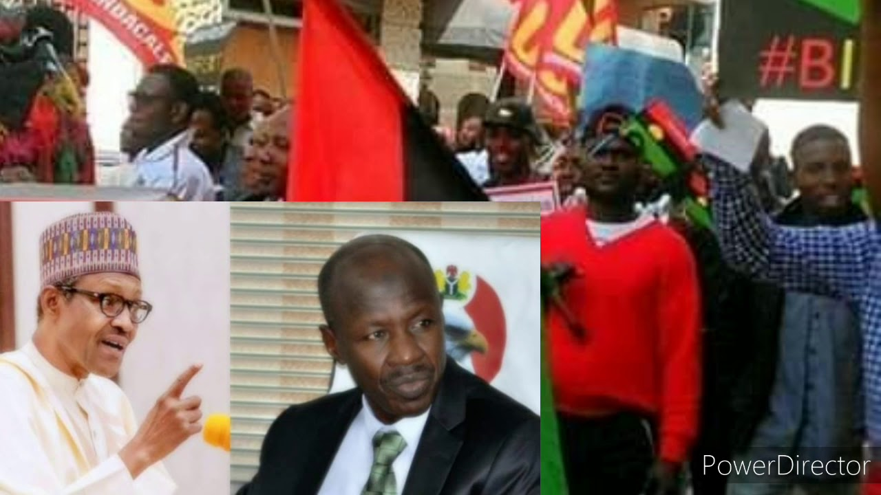 WATCH THIS SHAKARA :EFCC ,MAGU WALKOUT SCOT FREE AS  IPOB PROTEST EFCC FULANI BIRTH RIGHT