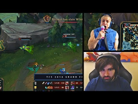 TYLER1 GOES CRAZY AFTER SEEING THE GREATEST PLAY IN TCS HISTORY | STREAMERS PREDICTIONS |LOL MOMENTS
