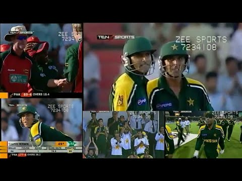 Pakistan vs Zimbabwe | CHERRY BLOSSOM SHARJAH CUP | 1st Match, 2003