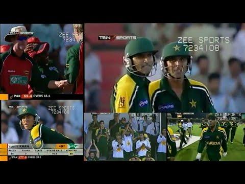 Pakistan vs Zimbabwe | CHERRY BLOSSOM SHARJAH CUP | 1st Match, 2003