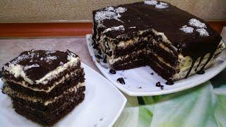 Бомбический Домашний торт за 30 минут С КАЖДЫМ РАЗОМ ВЛЮБЛЯЮСЬ в него все больше