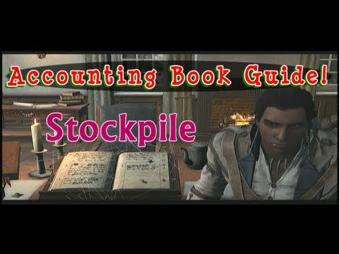 Stockpile - Accounting Book Tutorial - Trading Crafting Convoy Assassin's Creed 3 AC3 FurryMurry7