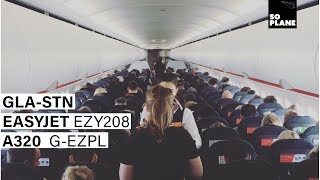EASYJET | Glasgow - London Stansted | A320 | Trip Report | Full Flight