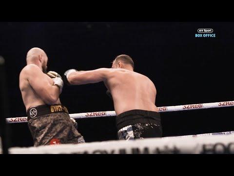 Tyson Fury looks like a heavyweight but moves like a lightweight