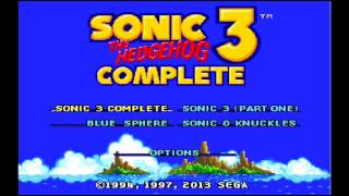 Sonic 3 Complete - Launch Base Zone, Act 1 (S&K Collection)