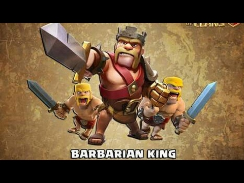 How a barbarian makes sound.. funny video.  Clash of Clans