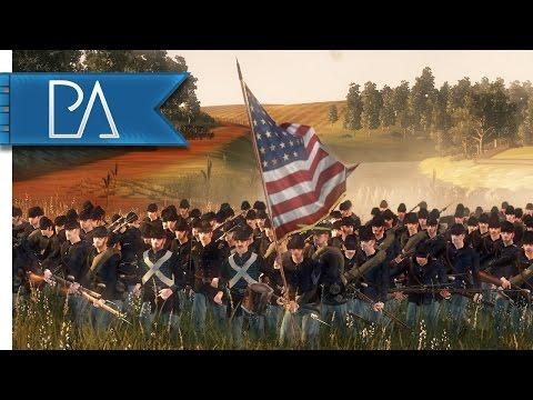 Battle Of Antietam: Burnside's Bridge - North & South: American Civil War Mod Gameplay