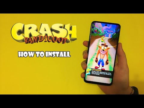 How To Install Crash Bandicoot On Android!