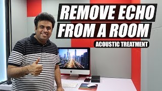 How to do Acoustic Treatment for Home Studio in Hindi - Remove Echo from a Room