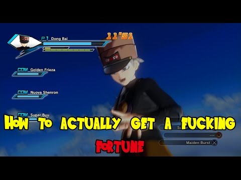 Dragon Ball Xenoverse - How to get Elder Kai to give you a fortune without doing PQ