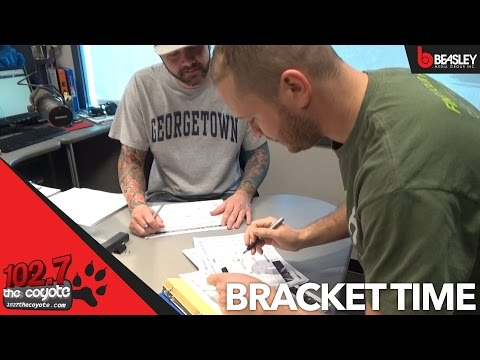 Fill out your bracket with 102.7 The Coyote
